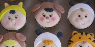 Baby Suit Cupcakes