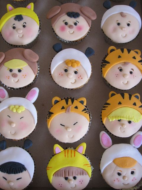 Baby Shower Cupcake Ideas Neutral : Baby Suit Cupcakes - Cupcakes Gallery