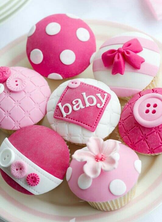 Pink Baby Shower Cupcakes Cupcakes Gallery