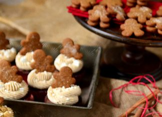 Adorable Gingerbread Cupcakes