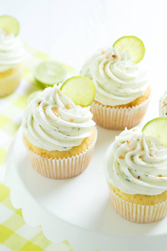 Coco Lime Cupcakes