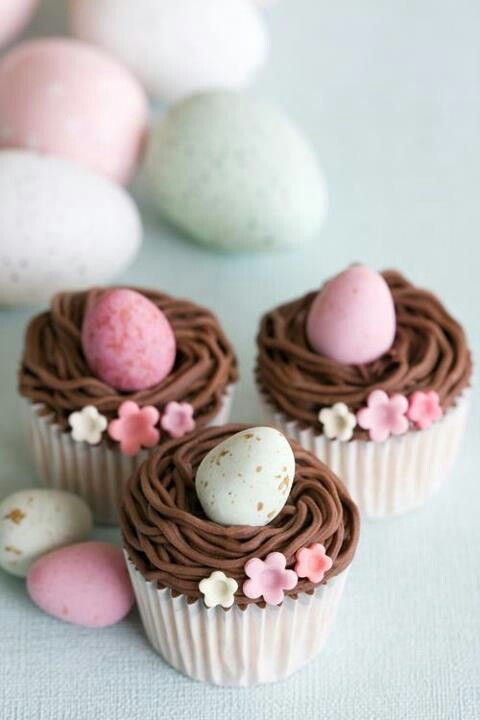Fancy Easter Egg Cupcakes