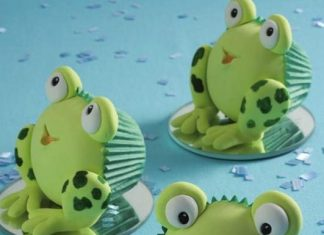Froggy Frog Cupcakes