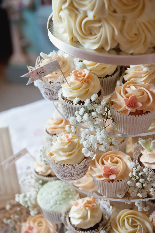 Tangy Wedding Cupcakes