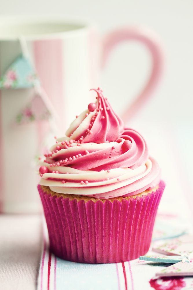 Beautiful Pink Cupcakes
