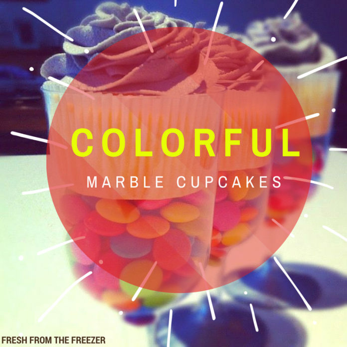 Colorful-Marble-Cupcakes
