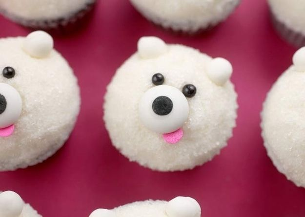 Cute Teddy Cupcakes