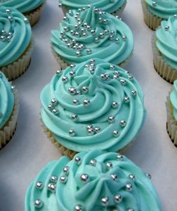 Silver Pearls Cupcakes
