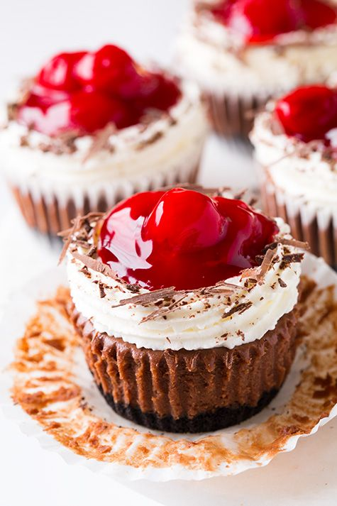 Yummy Black Forest Cupcakes