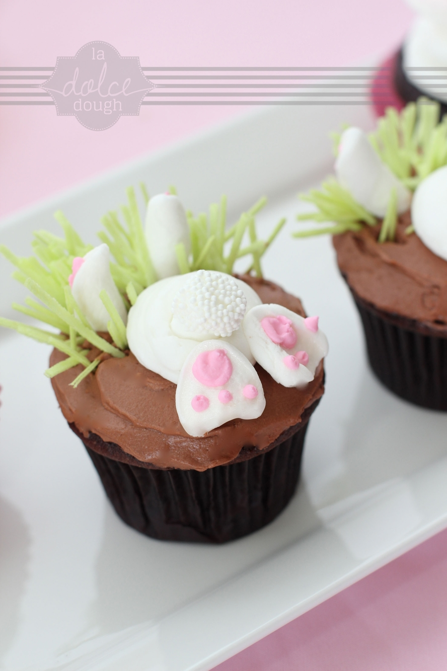 Bottom's Up Bunny Cupcake