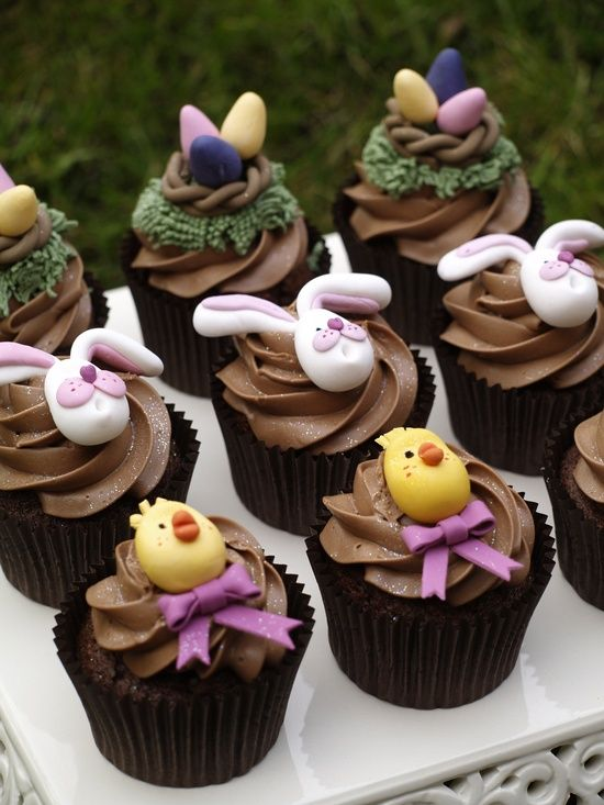 Easter Cupcake Decorating Ideas Pinterest : 30 Admirable Easter Cupcakes