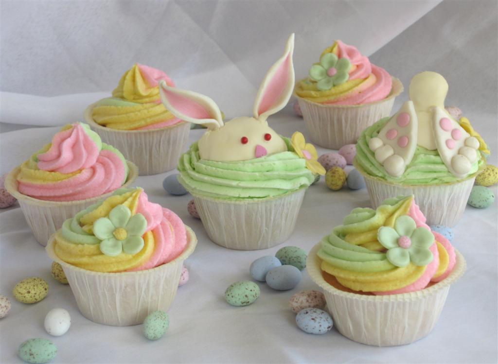 Fancy Easter Cupcakes