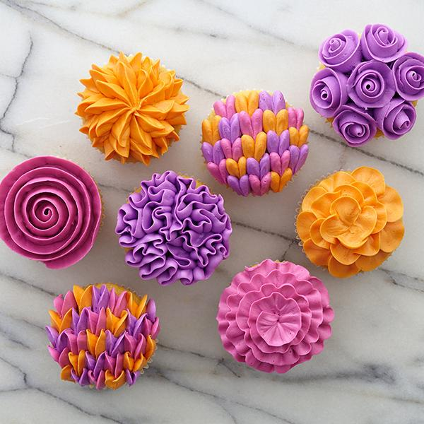 Fancy Flower Gallery Cupcakes