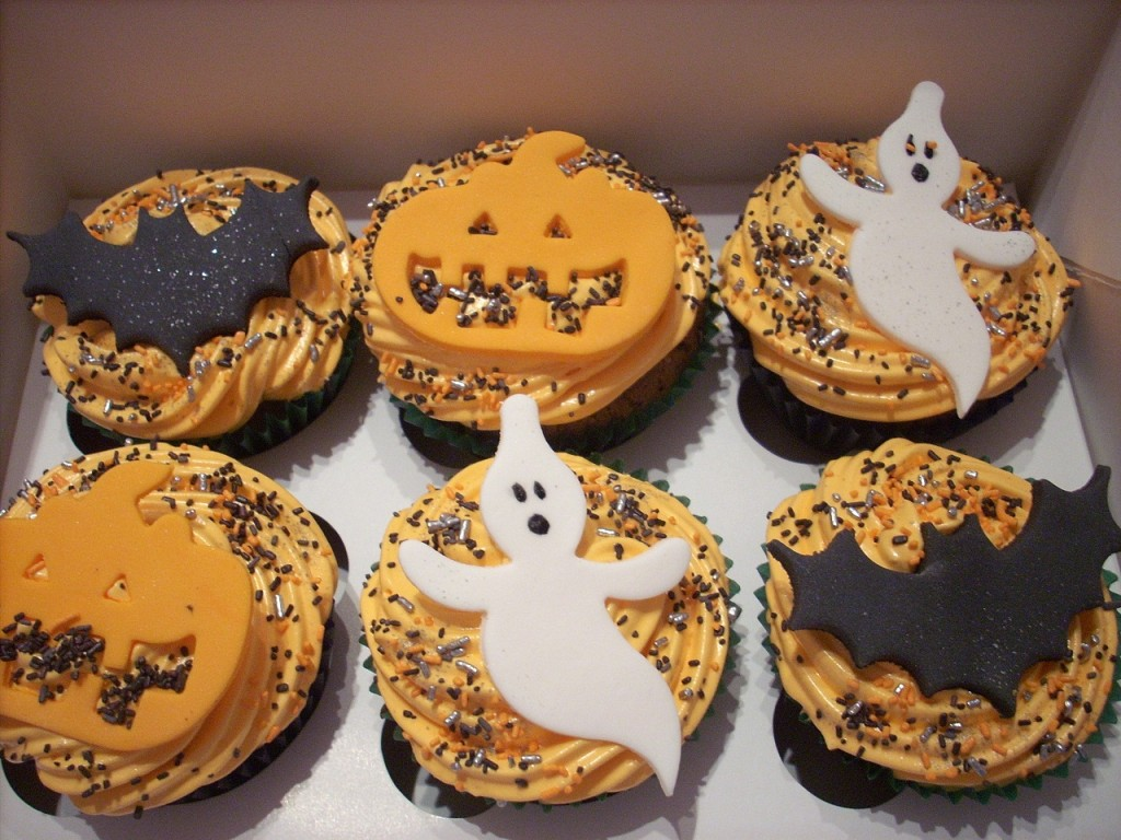 Fancy Scary Cupcakes