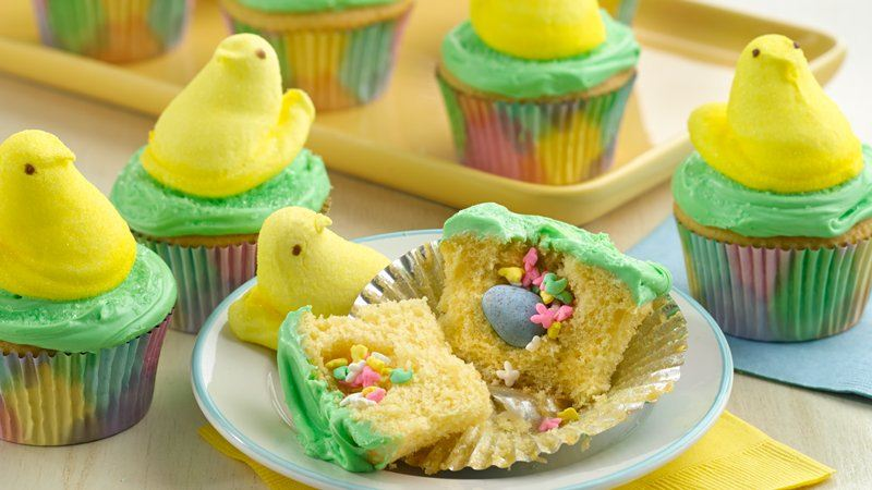 Surprise Egg Cupcakes