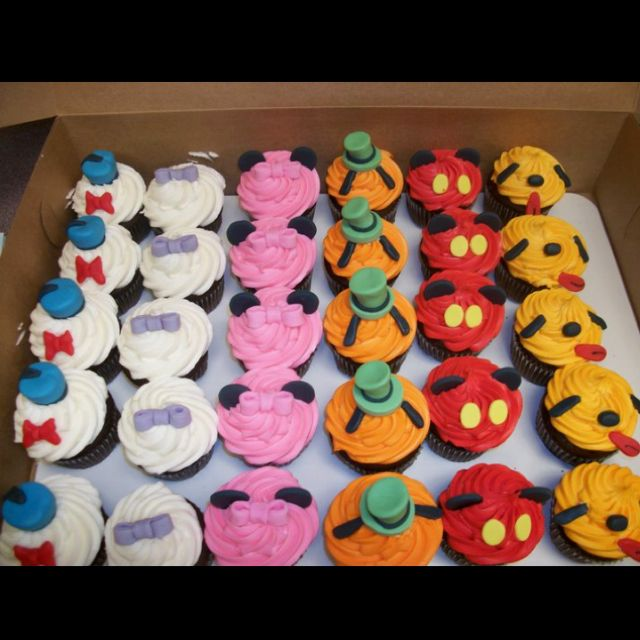 Adorable Disney Cupcakes