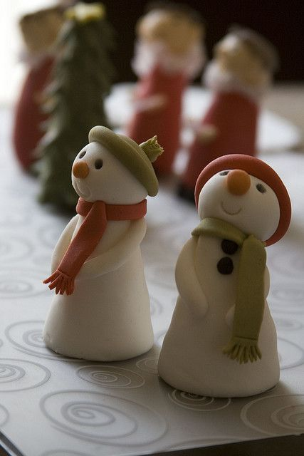 Amazing Snowboy Cupcake Toppers