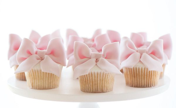 Cute Baby Pink Cupcakes