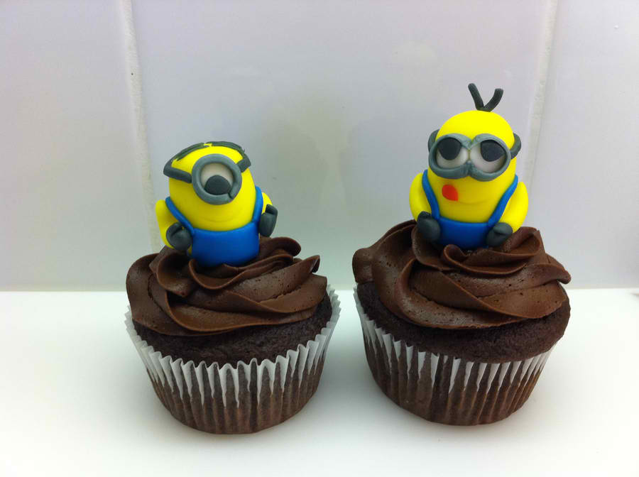 Despicable Me Chocolate Cupcakes