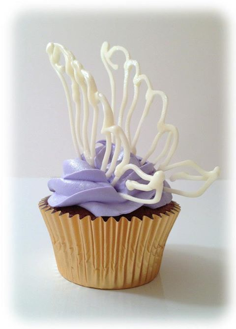 Fairy Wings Cupcake Toppers