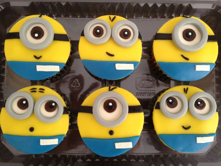 17 Despicable Me Inspired Cupcakes