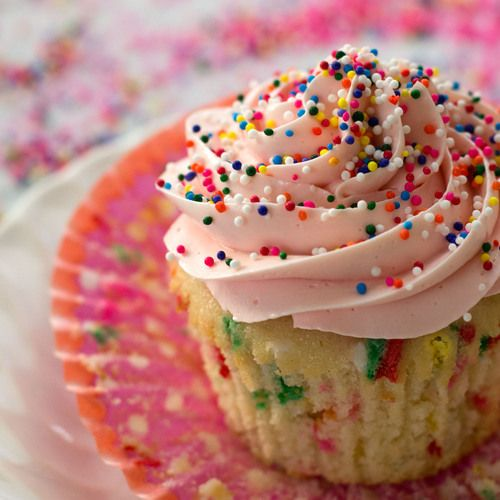 Funfetti Cupcakes for Baby