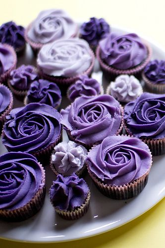 Gorgeous Ombre Rose Cupcakes