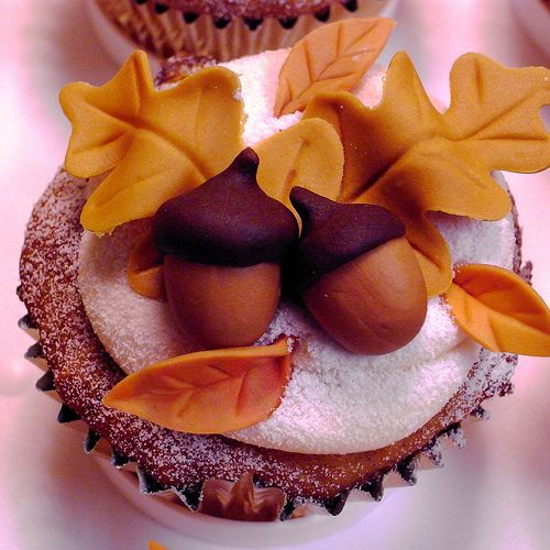 Gorgeous Pumpkin Cupcakes