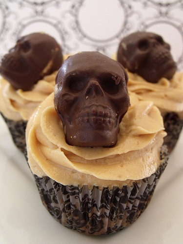 Gothic Cupcake Toppers