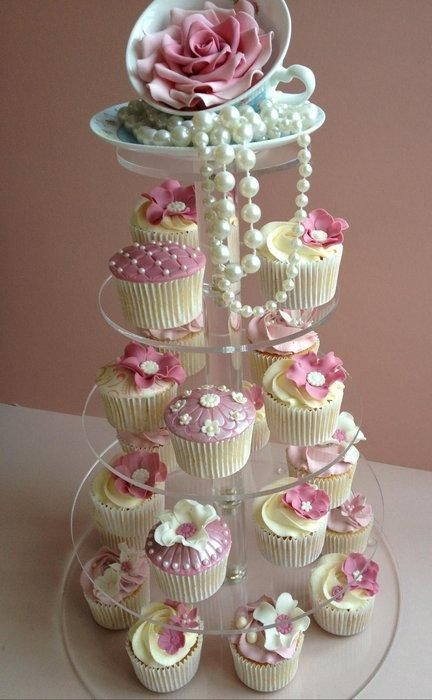 Ladies Tea Party Cupcakes