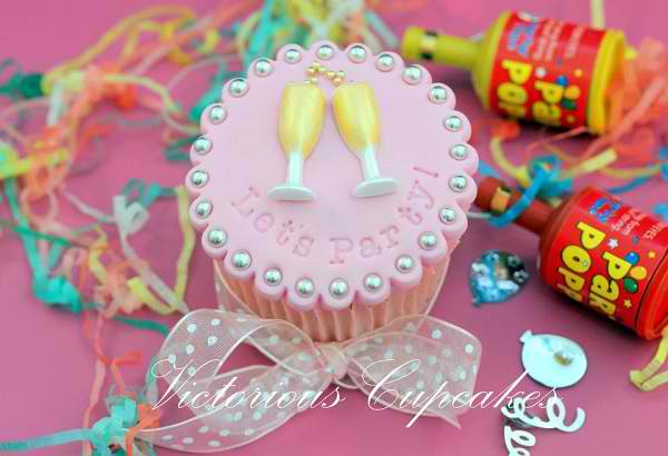Let's Party Cupcake