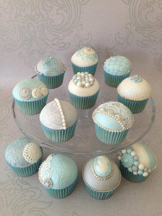 Most Gorgeous Tiffany Cupcakes