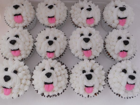 How to Make Cupcakes That Look Like Dogs  Cake Recipes