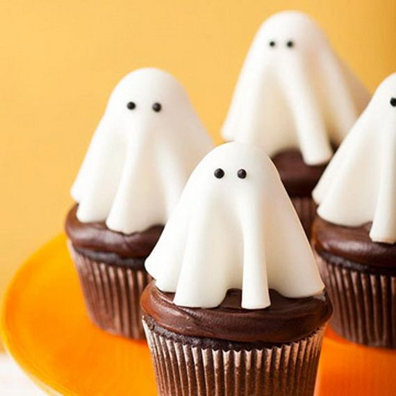 Spooky Halloween Cupcake Toppers