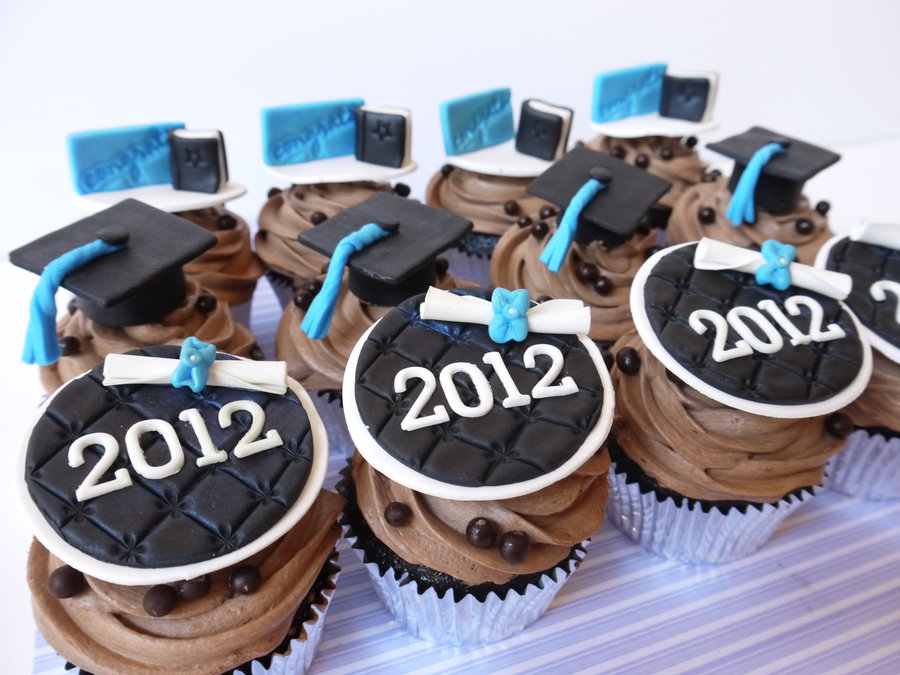 Cupcake Design For Graduation : 30 Most Creatively Done Graduation Cupcakes