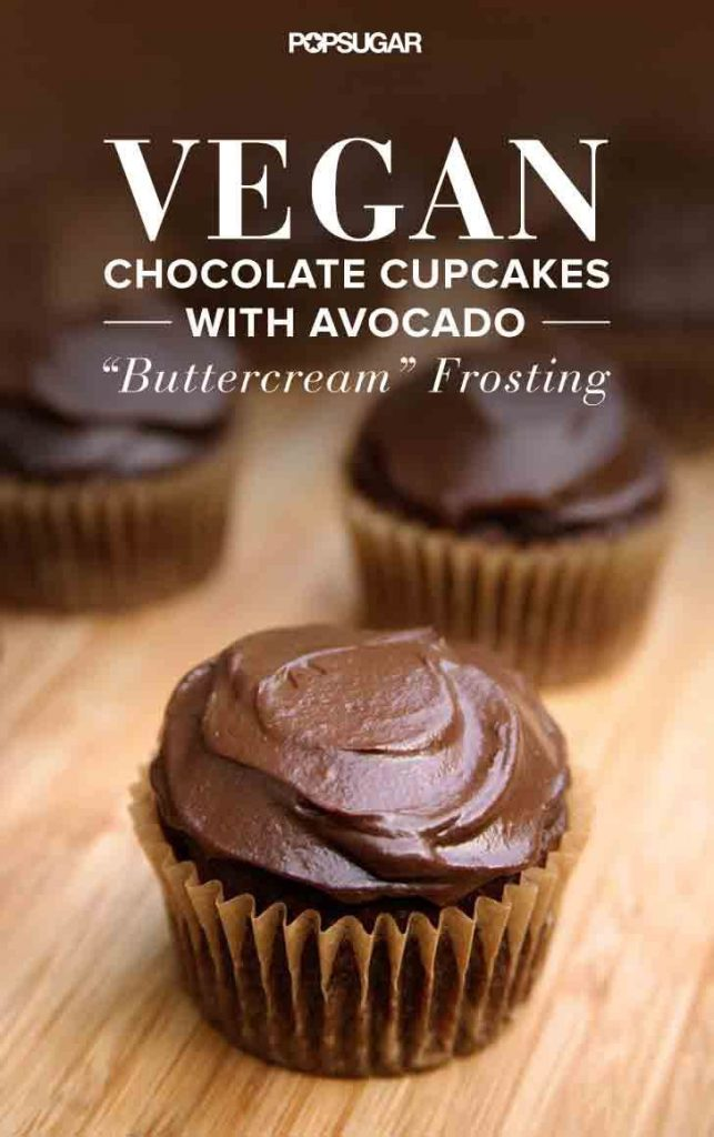 Vegan Chocolate Cupcakes With Chocolate Frosting Recipe ...