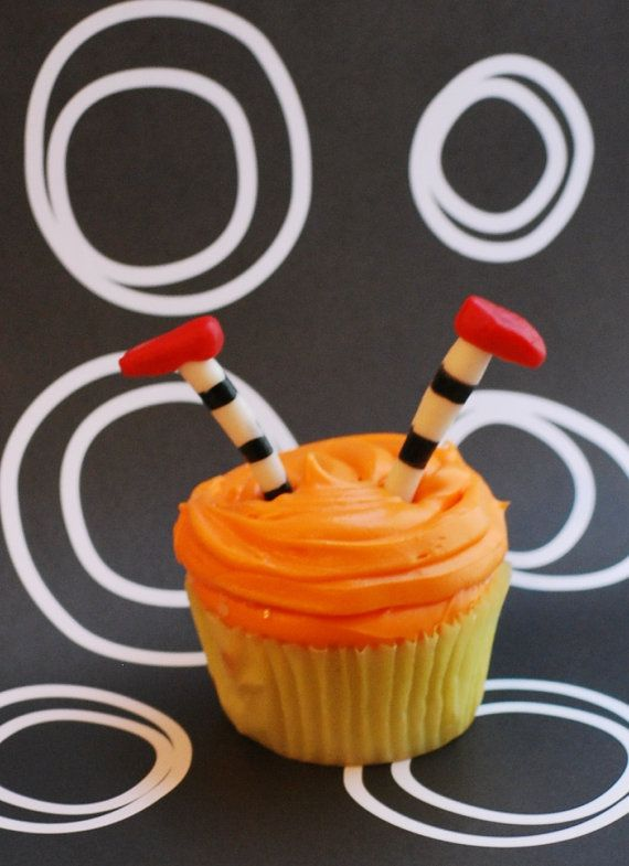 Witch Legs Cupcake Toppers