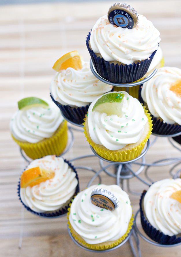 Booze Party Cupcakes