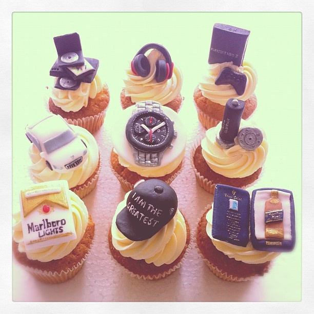 30 Adorable Father S Day Cupcakes
