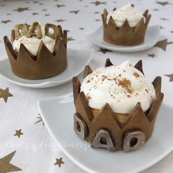 Crowned Dad Cupcakes