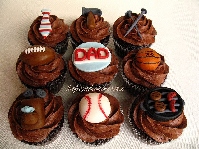 Dad's Chocolate Cupcakes