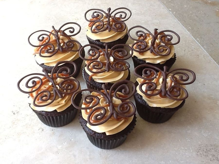 Exquisite Butterfly Cupcakes
