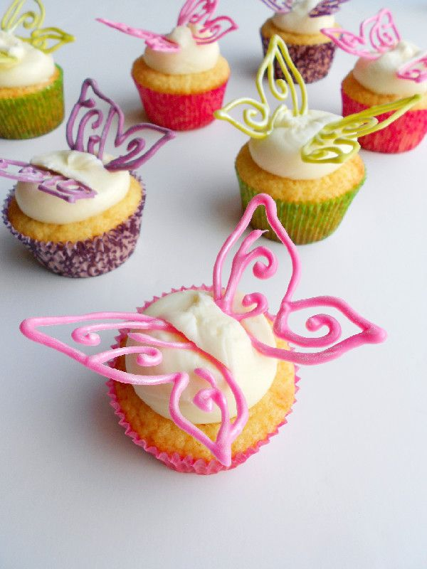 Lovely Butterfly Cupcakes Cupcakes Gallery