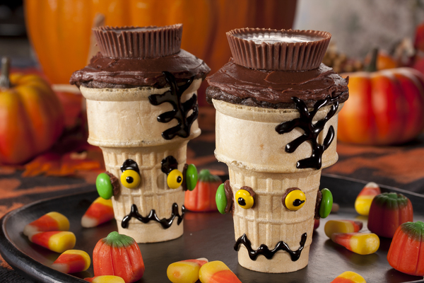 Frankie Coned Cupcakes