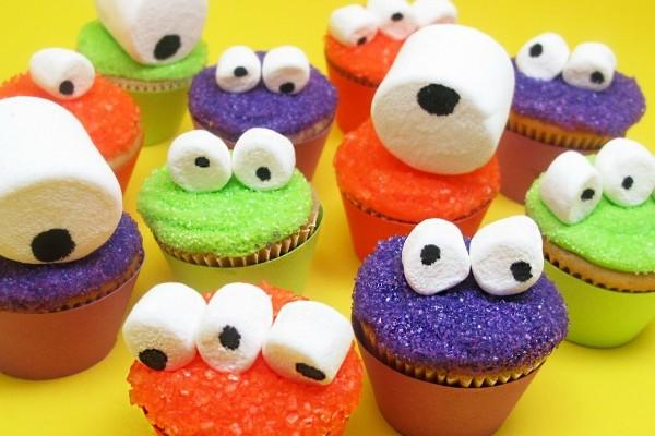 Mallows Monster Cupcakes