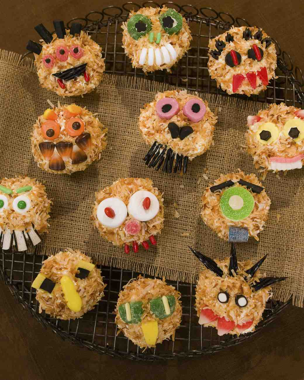 Terrifying Field Monsters Cupcakes
