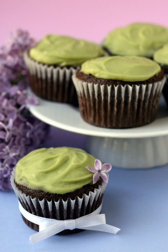 Vegan Avocado Cupcakes