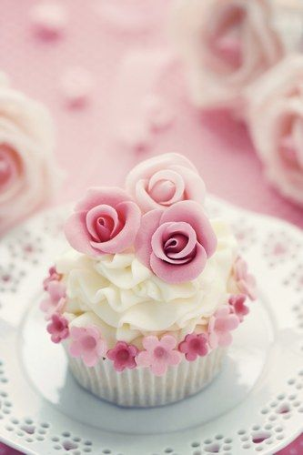 Mini Roses Bouquet Cupcakes
