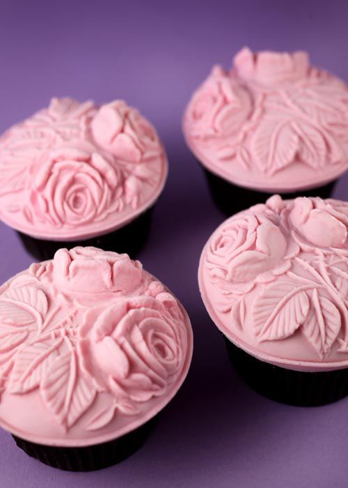 35 Succulent Pink Floral Cupcakes Cupcakes Gallery