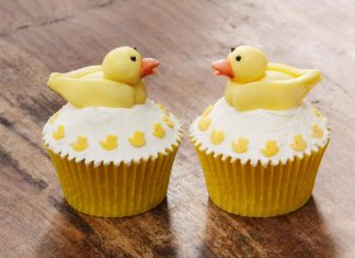 Fascinating Duck Cupcakes